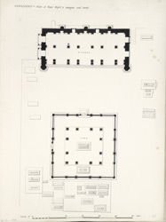 Ahmadabad: Plan of Rani Sipri's mosque and tomb.